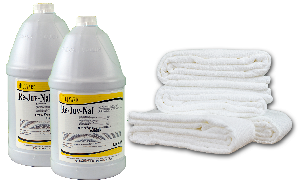 TKH635- Re-Juv-Nal Tune Up Kit for Disinfecting Mats & Covers