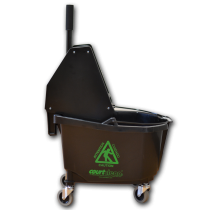 TKH350- Courtclean 26 QT Heavy Duty Downpress Wringer/Bucket