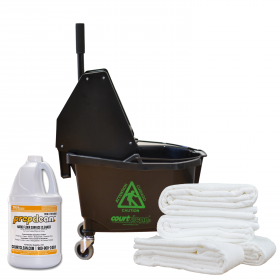 Deluxe Courtclean Start Up Kit for Hard Floor Surfaces